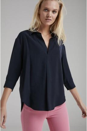 قميص نسائي سبور - ازرق داكن