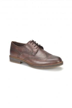 حذاء رجالي مزخرف _ بني