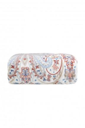 بطانية سرير مزدوج مع زخرفة