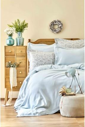 طقم غطاء سرير مزدوج قطني