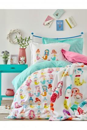بطانية سرير اطفال مع رسمات