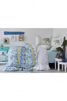 طقم بطانية سرير مزدوج مزخرف