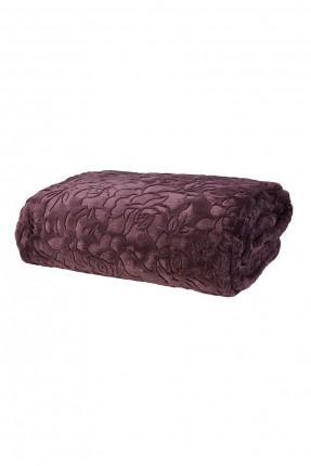 بطانية سرير مزدوج بنقوش