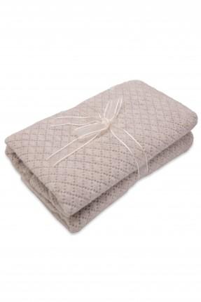 بطانية سرير مفرد - بيج