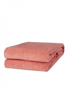 بطانية سرير مزدوج - برتقالي