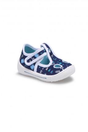 حذاء بيبي ولادي - ازرق داكن