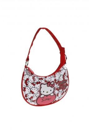 حقيبة كتف اطفال بناتي - احمر