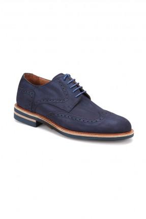 حذاء رجالي مزخرف _ ازرق داكن