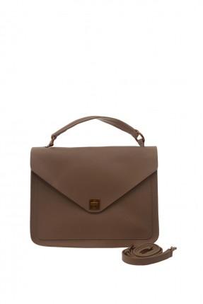 حقيبة يد نسائية رسمية - بني