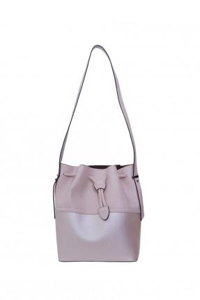حقيبة يد نسائية - وردي