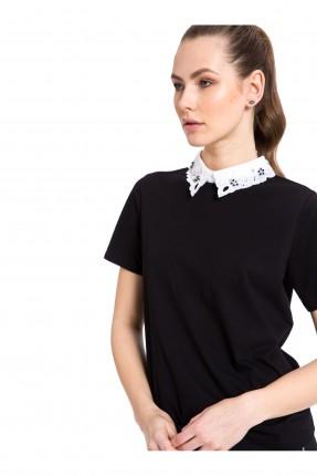 بلوز نسائي بياقة قميص