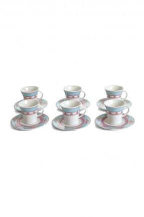 طقم فنجان قهوة - 6 اشخاص