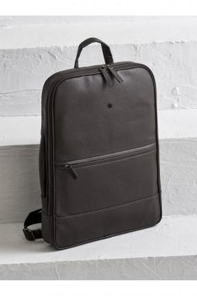حقيبة ظهر رجالية جلد - بني