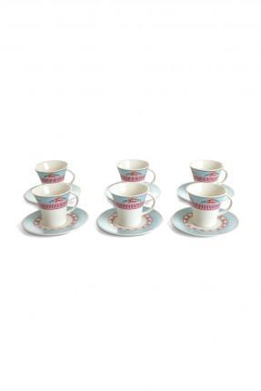 طقم فنجان شاي - 6 اشخاص