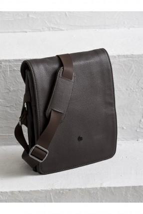 حقيبة يد رجالية شيك - بني