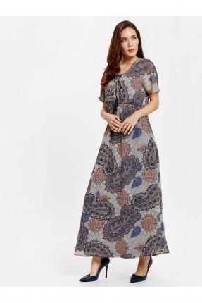 فستان سبور شيفون مزخرف