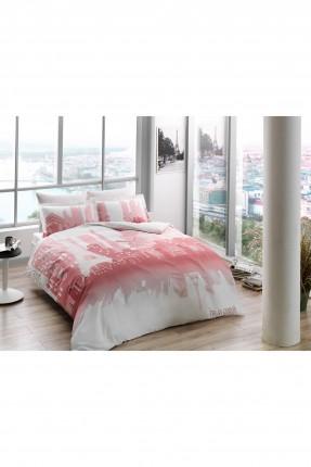 طقم غطاء سرير مزدوج مع رسمة باريس