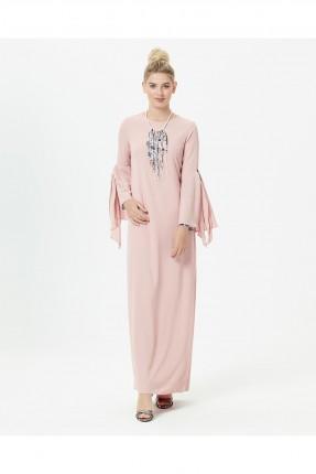 فستان سبور شيك طويل سادة