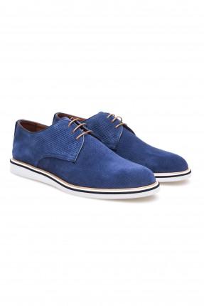 حذاء رجالي منقط سبور شيك - ازرق داكن