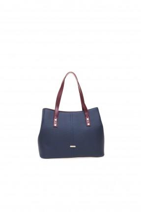 حقيبة يد نسائية بحزام سبور شيك - ازرق داكن