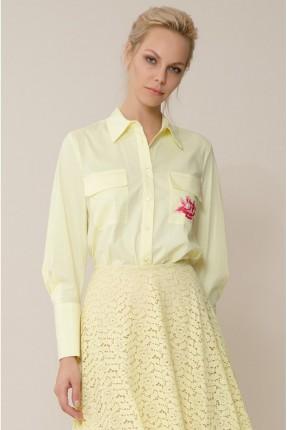 قميص نسائي سبور بازرار - اصفر