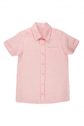 قميص اطفال ولادي - وردي