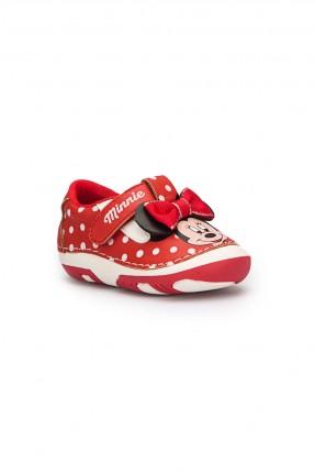 حذاء بيبي بناتي _ احمر