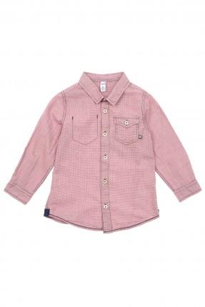 قميص اطفال ولادي مع جيوب