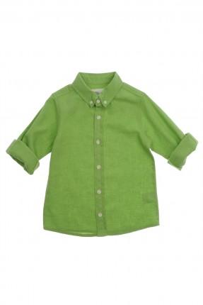 قميص اطفال ولادي - اخضر