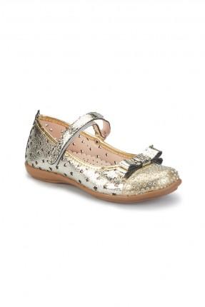 حذاء اطفال بناتي _ ذهبي