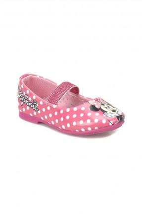 حذاء بيبي بناتي مع رسمة ميني ماوس
