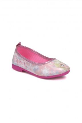 حذاء اطفال بناتي مع رسمة ملكة الثلج