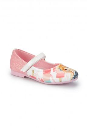 حذاء اطفال بناتي مع رسمة بنت
