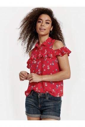 قميص نسائي مزهر