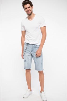 برمودا رجالي جينز - ازرق