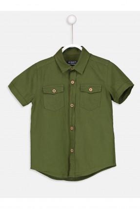 قميص اطفال ولادي مع رسمة نمر