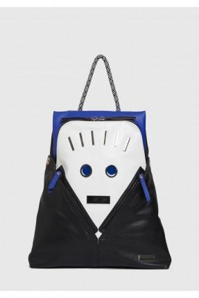 حقيبة ظهر نسائية مع سحابات جلد سبور