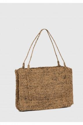 حقيبة يد نسائية قش سبور