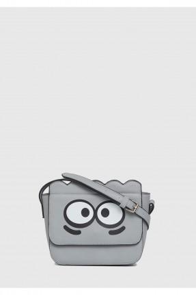 حقيبة يد نسائي مع غطاء مطبوعة عيون