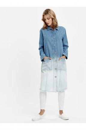 جاكيت سبور طويل جينز