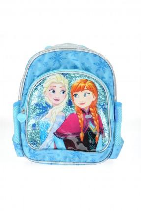 حقيبة ظهر مدرسية اطفال بناتي مع رسمة فرزون
