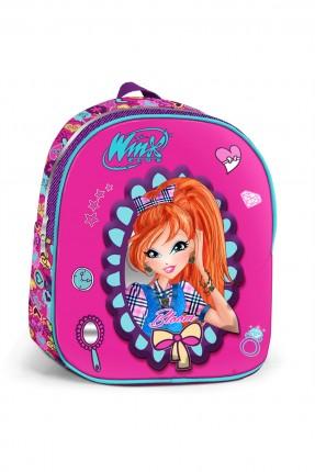 حقيبة ظهر مدرسية اطفال بناتي مدرسية مع رسمة