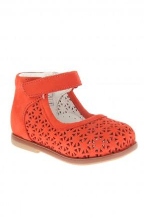 حذاء بيبي بناتي مفرغ - احمر