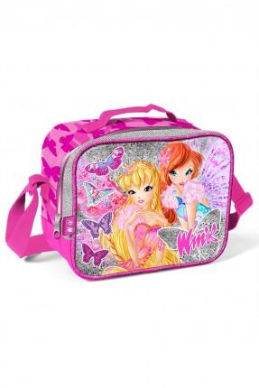 حقيبة يد مدرسية اطفال بناتي مع رسمة