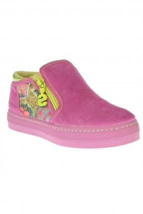 حذاء اطفال بناتي مع سحاب