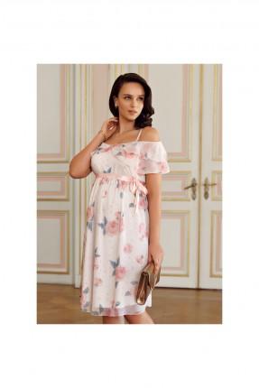 فستان سبور حمل مورد مع كشكش