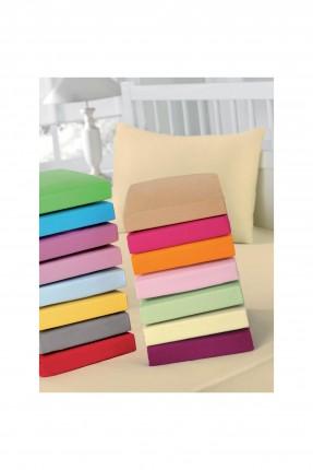 شرشف سرير مفرد + غطاء وسادة - وردي