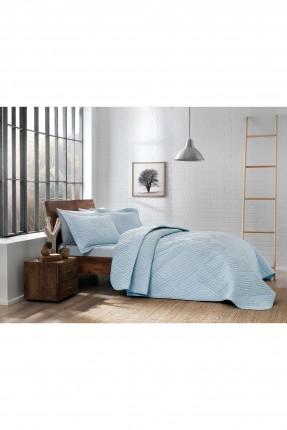 غطاء سرير مفرد - ازرق