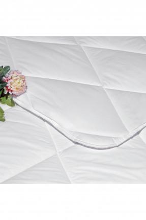 لحاف سرير مفرد - ابيض