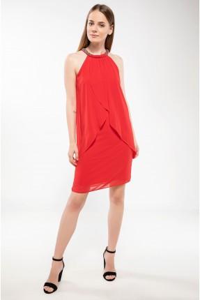 فستان رسمي  شيك - احمر